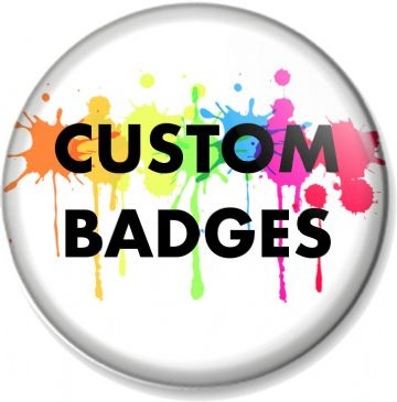 Customise Your Own 38mm Badge (s)